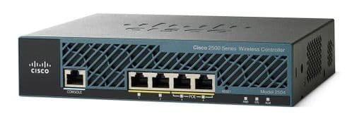New Cisco AIR-CT2504-25-K9Z 4 Port Wireless Controller Bundle With 25 AP License